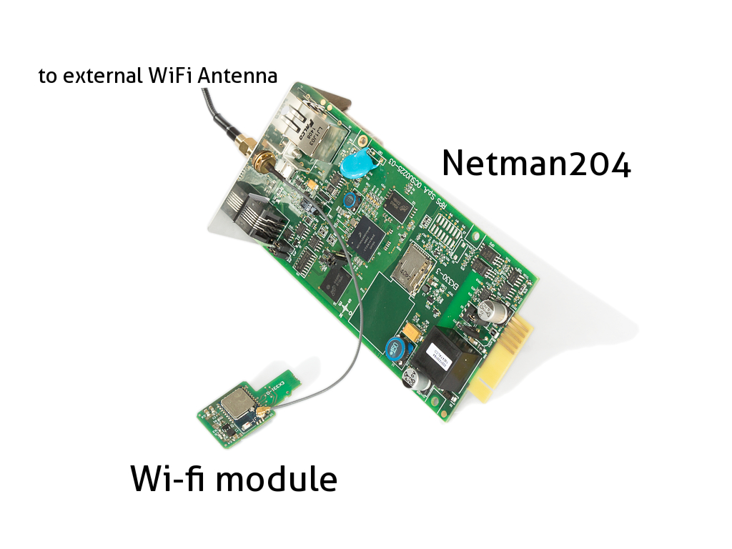 WiFi dongle for NetMan 204